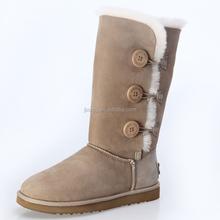 2015 hot sale Women button snow boots fashion snow boots factory snow boots wholesale