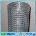 el precio de fábrica galvanizado electro soldada de malla de alambre rollo