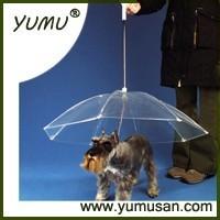 Dog Umbrella, Transparent Pet Umbrella