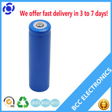 3.7v rechargeable battery 18500 14500 18350 1865 li-ion battery