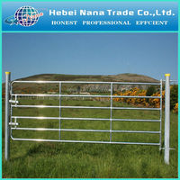 Manufacturer cheap hot galvanized farm gate