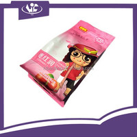 Custom Printed Coffee Opaque Food Grade Ziplock Quad-seal Plastic Packaging Bags with Side Gusset Zipper Pouch
