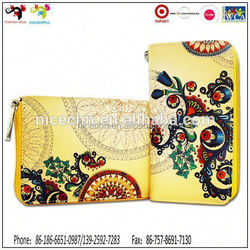 Holiday best gift item super quality brief long natural card wallet