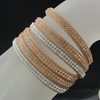 2014 new fashion hot sell crystal bracelet BCR-010-3
