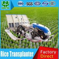 Manufacture Transplanter Machine Rice Planting Machine For Sale Customizable Mechanical Rice Transplanter 4 Rows 2ZS-4A