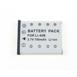MELASTA 700mAh Li-ion Battery for Olympus LI-40B LI-42B LI-41C and Olympus D-630 D-720 D-725 IR-300 Replacement Battery