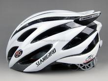 2015 White Bicycle Helmet Manufacturer PC Mesh Liner EPS Mountain Bike Helmet