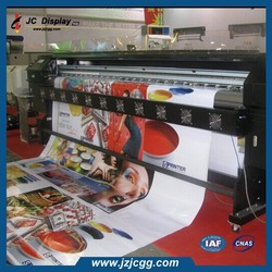 Waterproof Polyester Banner Advertising Portable Stretched Display Banner With Printing
