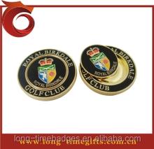 Golf coin ball marker/golf hat clip ball marker/ golf divot ball marker