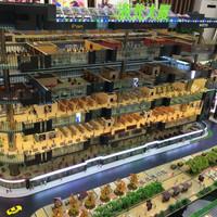 building scale model 1/100