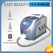 Tattoo removal 1064 nm 532nm nd yag laser