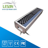 Green LED 72W outdoor led building lighting decoration project