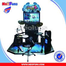 Latest new arcade drum game machine