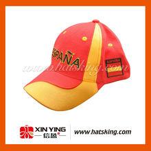 Gorra deportiva de diseño propio con precio al por mayor