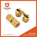 petit cylindre en laiton charnière pour boîtes à bijoux