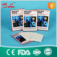 OEM Pharmacy & Hospital muscle Medicated adhesive plaster Therapy Patch for Neck and Shoulder