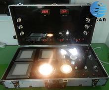 Promoción de la fábrica precio caliente de la venta caso de demostración del led para lámparas y el precio barato