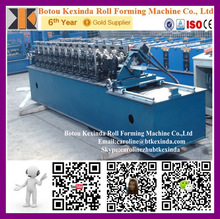Metal stud and track rolling forming line light gauge stud and track making machine China