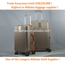 top quality aluminium frame travel Carry-on luggage
