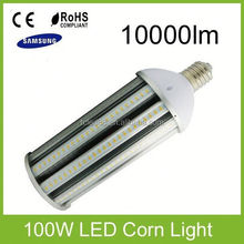 Hot sale ce rohs 120w e40 led corn bulb ul high bay