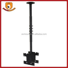 "Tilt and Swivel Ceiling TV Mount - Black Supports 24""-37"" TV and Load capacity up to 80lbs"
