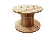 second hand recycled wooden cable drum/reel/bobbin factory in China