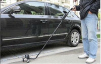 MCD-V3D portable three wheels under car inspection camera ,DVR function under vehicle search camera