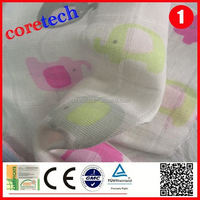 Breathable natural muslin fabric rolls factory
