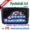 android 4.4.2 8 inch car pc 2 din dvd player vw passat jetta polo golf with gps navigation wifi dvd bluetooth Capacitive screen