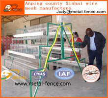 wholesale kenya poultry farm house A type layer galvanized welded wire mesh egg chicken cage for sale China manufacturer