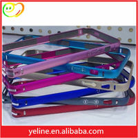 Colorful metal phone frame case for Iphone4/Iphone4s/Iphone5/Iphone5s