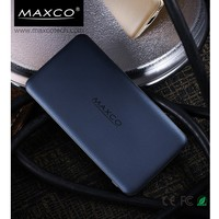 Maxco Power bank external battery 5000mah powerbank universal charger for iphone 6S