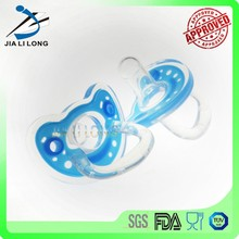 Eco-friendly durable silicone food pacifier feeder for baby