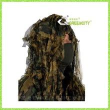 Durável produtos florestais/forro em malha camo ghillie terno para a caça