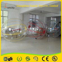 1.0mm thickness PVC/TPU inflatable water ball/water walking bubble ball made from China