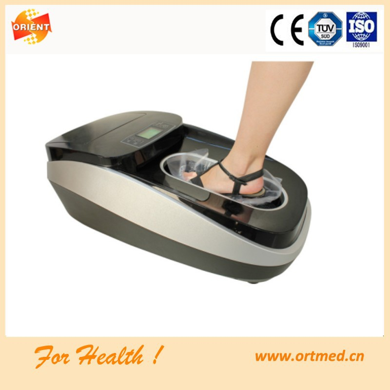 Automatic Shoe Cover ~ Disposable pe film machine made shoe cover overshoe in ce