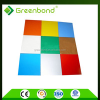 Greenbond aluminum composite panels insulated with roof panels