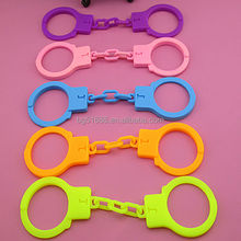 2015 new product silicon toy handcuffs /handcuff key buckle /kid handcuffs toy