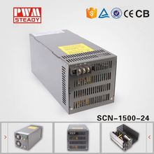 1500w 24vdc 60a dc output power supply meanwell Style ac/dc SMPS CE Approved