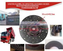 hight quality SINOTRUK Clutch Disc AZ9725160390 Heavy truck Parts Clutch Disc china truck