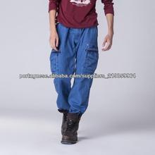 camuflagem couro vestuário homem sexo com animais foto da calça azul