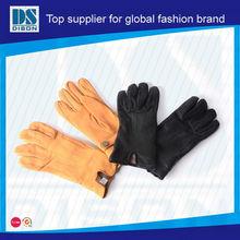 Cerfs peau preuve de l'eau gants pour femmes à l'hiver out door sport