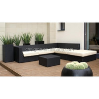 Exclusive lounge design outdoor wicker cheap chesterfield sofa