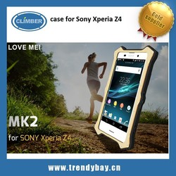 Love Mei hot selling aluminum case for sony xperia z4