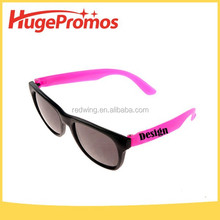 Customized Pink Lens Fluorescent Fluorescent Glow Glasses For Promotion