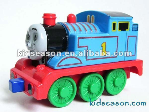 Die cast pull back brinquedo trem