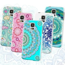 Mobile phone mandragora series design embossing hard case for Samsung S5 mini Guangzhou manufacturer