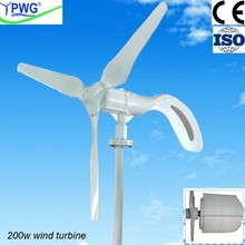 low wind power generator 12v 24v 200w wind power/wind mill