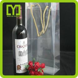 Yiwu China colored drawstring wine pp bag