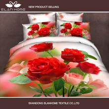 5D Bedding Set Manufacturer! 100% High Quality Cotton Reactive Print 5D bed cover